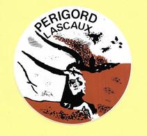 AUTOCOLLANT STICKER - PÉRIGORD - LASCAUX - PRÉHISTOIRE - GROTTES - ART RUPESTRE - Stickers