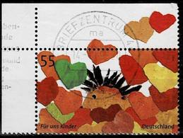 Bund 2007,Michel# 2619 O  Kindermarke 2007, Eckrand - Gebruikt