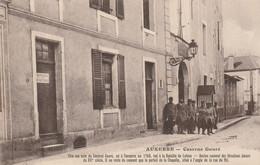 Auxerre Caserne Gouré ( Envoi Du Soldat 39° Territorial ) - Auxerre