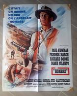 1966-Hombre-format 55x45cm- Pliée-affiche Originale-en L'état - Manifesti & Poster