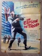 1966-un Espion De Trop-Napoléon Solo-format 77x57cm- Pliée-affiche Originale-en L'état - Manifesti & Poster