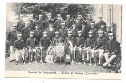 CPA 57 - FAULQUEMONT - SOUVENIR - SOCIETE MUSIQUE CONCORDIA - Faulquemont