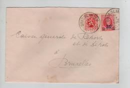 REF3646/ TP 247 Houyoux - 282 S/L. Edouard Loweit C. Drieslinter 1930 > BXL - Covers & Documents