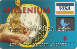 PORTUGAL - BANCO MELLO (Millenium) - Credit Cards (Exp. Date Min. 10 Years)