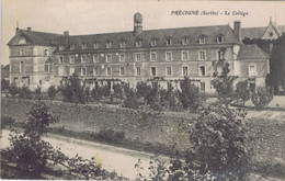 72 - Précigné (Sarthe) - Le Collège - Otros Municipios