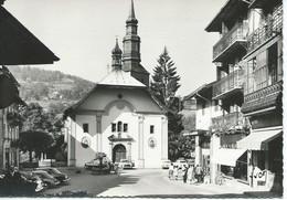 SAINT-GERVAIS-les-Bains (74) : Place De L'Eglise. - Saint-Gervais-les-Bains