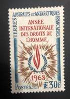 TAAF Yvert N° 27 ; Année Internationale Des Droits De L'homme, Neuf  Avec Trace De Charnière - Ungebraucht