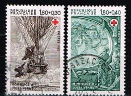FRANCE / Oblitérés / Used /1982 - Croix Rouge / YVT N°2247/2248 / MI.N°2367/2368 - Usados