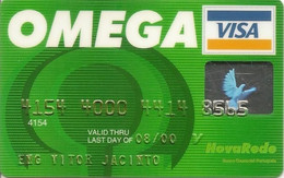 PORTUGAL - OMEGA - NOVA REDE - Credit Cards (Exp. Date Min. 10 Years)
