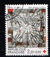 FRANCE / Oblitérés / Used /1986 - Croix Rouge / YVT N°2449/ MI.N°2582 - Usados