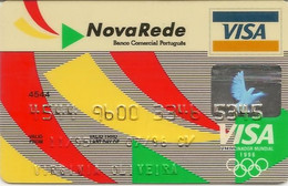 PORTUGAL - NOVA REDE (1996 Olympic Games) - Credit Cards (Exp. Date Min. 10 Years)