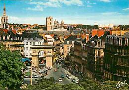 21 - Dijon - La Place Darcy Et La Porte Guillaume - Automobiles - Commerces - Carte Neuve - CPM - Voir Scans Recto-Verso - Dijon