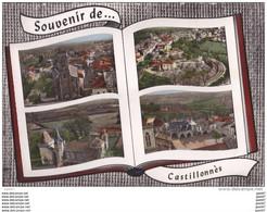 Cpsm Réf-JP-W-101 ( Dép-47 à CASTILLONNES  )   Multi-vue - Other Municipalities