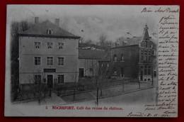 CPA 1902 Rochefort, Café Des Ruines Du Château - Rochefort
