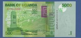 UGANDA - P.51a – 5.000 SHILLINGS 2010 - UNC - Prefix AA - Uganda