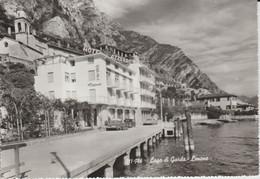(IT986) LIMONE. LAGO DI GARDA. HOTEL AZZURRO ... UNUSED - Andere Städte