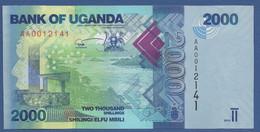 UGANDA - P.50a – 2.000 SHILLINGS 2010 - UNC - Prefix AA - Uganda