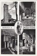 MUGGIA-TRIESTE?-BASILICA DI MUGGIA VECCHIA-4 VEDUTINE-CARTOLINA VERA FOTOGRAFIA- NON VIAGGIATA -1950-1958 - Trieste