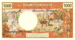 NEW HEBRIDES P. 20c 1000 F 1980 UNC - New Hebrides