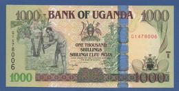 UGANDA - P.43d – 1.000 SHILLINGS 2009 - UNC Prefix G1 - Uganda