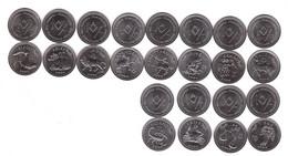 Somaliland - Set 12 Coins X 10 Shillings 2006 UNC Zodiac Series Lemberg-Zp - Somalia