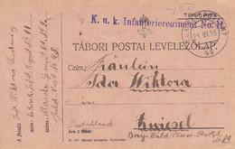 Feldpostkarte - K.u.k. Infanterieregiment  No. 11 - Nach Zwiesel - 1916  (54942) - Cartas