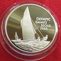 Cayman Islands 5 $ 1988 Olympic Games Seul Sail Regata - Cayman Islands