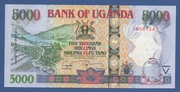 UGANDA - P.44d – 5.000 SHILLINGS 2009 - UNC Prefix JN - Uganda
