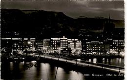 Geneve - Effet Du Nuit (7023) - GE Genève