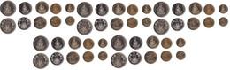 Vanuatu - 5 Pcs X Set 5 Coins 1 2 5 10 20 Vatu 1999 - 2009 UNC Lemberg-Zp - Vanuatu