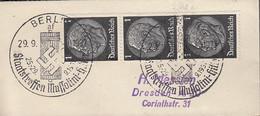 DR  512 MeF, Auf Brief Mit Sonderstempel: Berlin Staatstreffen Mussolini... 29.9.1937 - Briefe U. Dokumente
