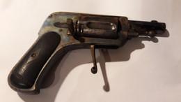 REVOLVER  A Barillet   -6 Ou 7 Mm - Canon Octogonal ( Voir Descriptif ) L. CHOBERT - Armi Da Collezione