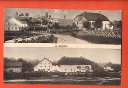 ZLI-20 RARE  Les Bois, Le Boëchet  Multivues Restaurant De La Gare EtGare. Cliché Cattin. Circ. 1908 Vers V. Des Br. - JU Jura