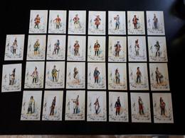 30 Cartes Historiques Des Uniformes Des Régiments De Dragon 1693 à 1870 - Documenten