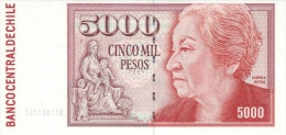 CHILE P. 155e 5000 P 2003 UNC - Chile