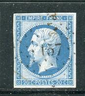 Superbe N° 14B Cachet PC 157 ( Aubagne ) - 1853-1860 Napoleon III