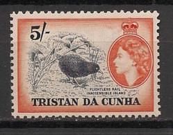 Tristan Da Cunha - 1953 - N°Yv. 27 - Flightless Rail - Neuf Luxe ** / MNH / Postfrisch - Non Classificati