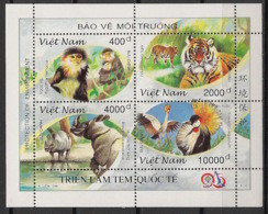 Vietnam - 1996 - N°Yv. 1658 à 1661 - Protection De La Nature - Neuf Luxe ** / MNH / Postfrisch - Non Classificati