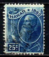 HAWAII - 1894 - Pres. Sanford Ballard Dole - USATO - Hawaii