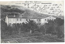 VAR - HOPITAL TEMPORAIRE LA PROVIDENCE - SAINT JEAN DU VAR - GUERRE 1914-1915 Défaut En Bas Trou - Toulon