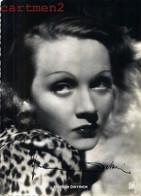 AUTOGRAPHE DEDICACE MARLENE DIETRICH ACTRESS FILM ACTRICE CINEMA MOVIE AUTOGRAMM HOLLYWOOD  SIGNED - Autographs