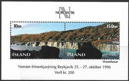 Iceland  1995  Sc#810  Nordia 96  Mini Sheet MNH  2016 Scott Value $11 - Nuovi