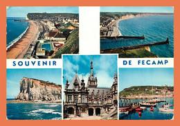 A491 / 407 76 - FECAMP Les Plages Le Port Multivues ( Bateau ) - Sin Clasificación