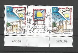 797  30éme Anniversaire     Triptyque, Bdf Et Coin Daté   (470) - Used Stamps