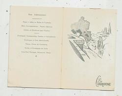Calendrier , 4 Pages , Petit Format, 1971 , LA COURONNE , Papier à Lettre.... ,2 Scans - Tamaño Pequeño : 1971-80