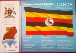 Uganda Flag - Uganda