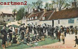 THE NAVAL VOLUNTEERS AT EAST DEAN SUSSEX MILITARY WAR ENGLAND - Otros