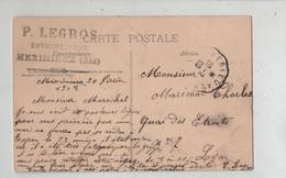 Maréchal Charles Lyon Legros Entrepreneur Meximieux 1908 Monaco Les Canons Terrasse Du Palais - Genealogia