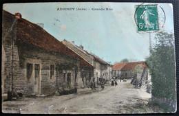 AUGISEY   ( Jura 39 )  GRANDE RUE  - Colorisée  § ETAT § - Otros Municipios