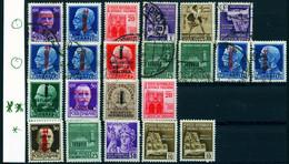 "ITALIA Italien 1944-45 Michel-# Div "" Republicca Sociale 26 Marken O**/* "" Michel ~ Nb € - Unclassified"